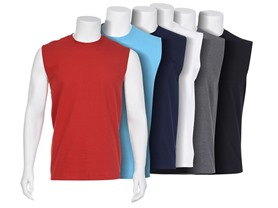 Fruit of the Loom Men's 6-pack Sleeveless Tees