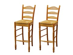 "TMS Ladderback 30"" Stool Set of 2"