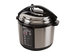 Emson 5-Qt. Electric Indoor Pressure Cooker Smoker