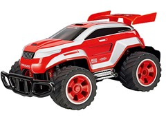 Red Off-Road R/C Car