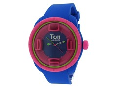 Ten Beats 3H Blue/Pink Watch