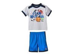 Boys Tee & Short Set - Sports