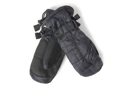 Kid's Down Mittens - Black