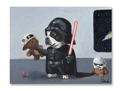 Darth Boston Terrier  (2 Styles)