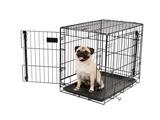 Carlson Heavy-Duty Two Door Wire Crates