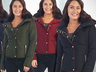 Ladies Puffer Jackets