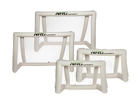 NRG Sport Inflatable Soccer Goals - 2 Sizes