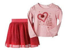 Top & Skirt Set - Little Princess (4-6X)