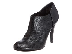Rockport Presia Zip Shootie Pump,Black Snake