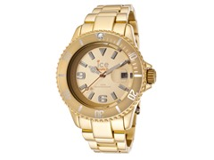 Gold Tone Watch