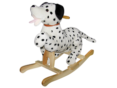 Dalmation Rocker with Wagging Tail