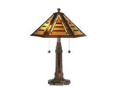 17 X 22 Grueby Tiffany Table Lamp