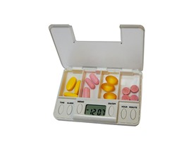Alarm Timer Pill Box