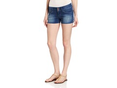 Levi's Juniors Carol Shorty Short, China Blue