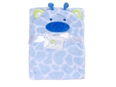 Blue Giraffe Hooded Boa