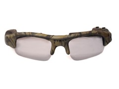 720p HD Action Cam Sunglasses - Camo