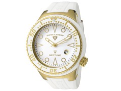 Men's Neptune Watch - White/White