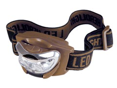 Brown - Kids Head Lamp