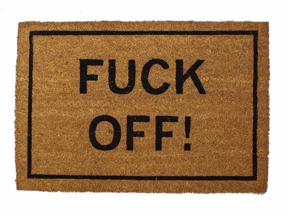 Fuck Off Doormat 78