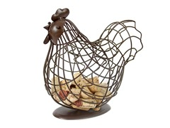 Wire Rooster Keeper