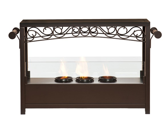 Sei Ainslie Portable Indoor Outdoor Fireplace
