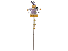 "Sunset Vista Scarecrow Stake 41""H"