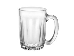 Duralex Set of 6 Orleans Clear Mug, 12 oz.