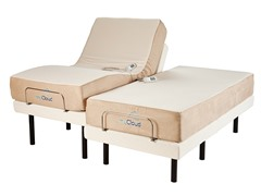 "Adjustable Bed with 10"" Split King Mattress"