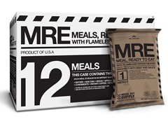Meal Kit Supply Premium Case of 12 Meals Ready to Eat