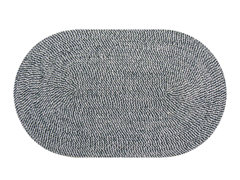 8' x 10' Braided Chenille Rug (8 Colors)
