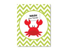 "11"" x 14"" Crab Print"