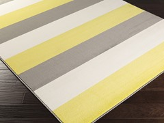 Bambino Lemon & Ivory Rug - 4 Sizes
