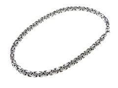 Stainless Steel Byzantine Chain