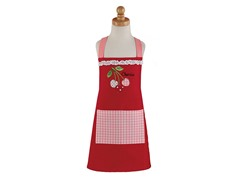 Cherry Red Children's Apron