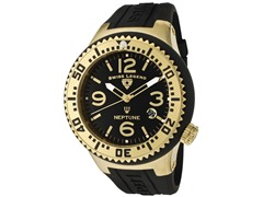 Men's Neptune Watch - Black/Gold