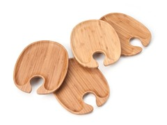 Bamboo Personal Serving Trays