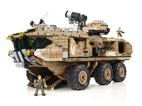 Mega Bloks Halo UNSC Mammoth Vehicle