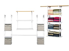Rubbermaid  Organization - 4 Styles