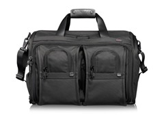 Tumi Luggage Alpha Deluxe Carry-on Satchel, Med Bag
