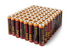 Kodak AAA Alkaline Batteries - 72 Pack
