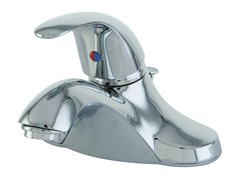 Lavatory Faucet with Pop-up, Chrome