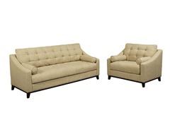 Alexibra Italian Linen Sofa & Armchair