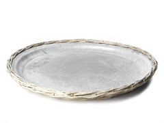 Galt Willow Plate with Zinc Insert 17.7""