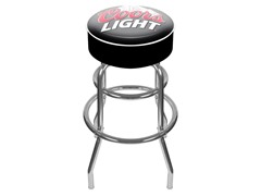 Coors Light Padded Bar Stool