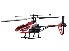 "Riviera 2.4Ghz 20"" F46 4CH Red R/C Helicopter"