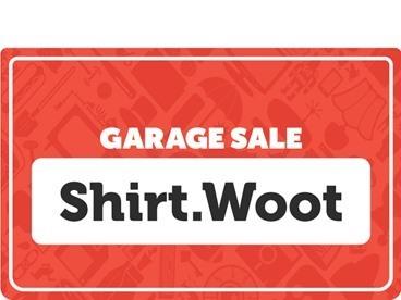 Shirt Garage Sale