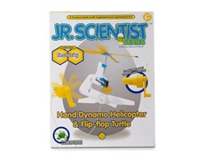 Jr Scientist Hand Dynamo Helicopter