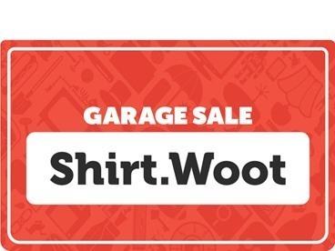 Shirt Garage Sale!