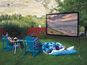 Camp Chef Super Outdoor/Indoor Movie Screen