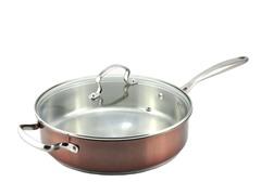 "Kevin Dundon 11"" Saute Pan: Copper"